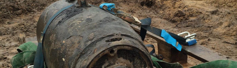 WIWA Bombenfund 500 kampfmittelräumdienst