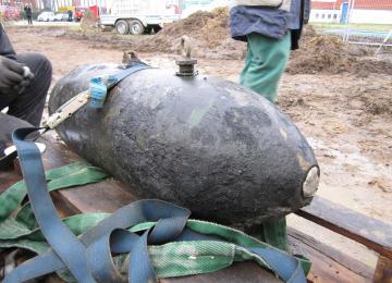 WIWA Kampfmittel Bombe Sprengstoffgesetz