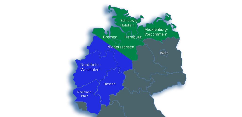 Munitionsbergungsdienst in NRW, Nordrhein-Westfalen